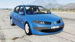 Renault Megane sedan 2009 для GTA 5
