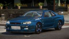 Nissan Skyline R34 ZT для GTA 4