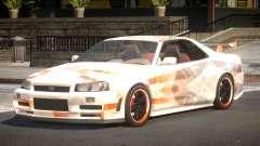 Nissan Skyline R34 GS PJ6 для GTA 4