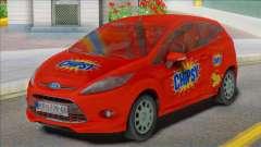2012 Ford Fiesta Van для GTA San Andreas