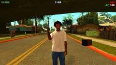Красивый и компактный минихуд для GTA San Andreas