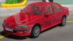 Ikco Peugeot Pars TU5 для GTA San Andreas