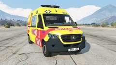 Mercedes-Benz Sprinter Ambulancia для GTA 5