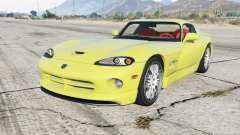 Dodge Viper GTS ACR 1999 для GTA 5