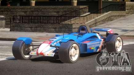 Stadium Car from Trackmania PJ3 для GTA 4