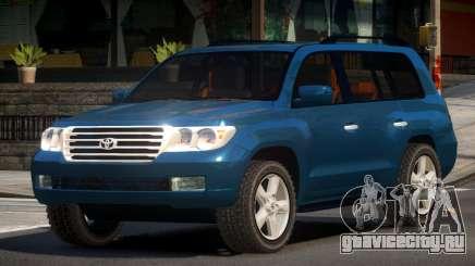 Toyota Land Cruiser 200 GST для GTA 4