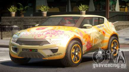 Lagoon Car from Trackmania 2 PJ4 для GTA 4