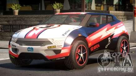 Lagoon Car from Trackmania 2 PJ2 для GTA 4