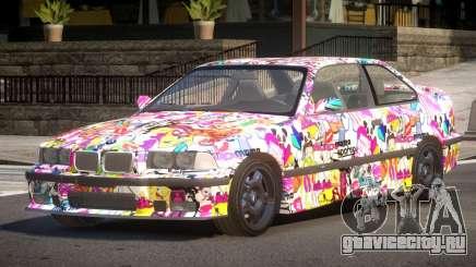 1992 BMW M3 E36 L8 для GTA 4