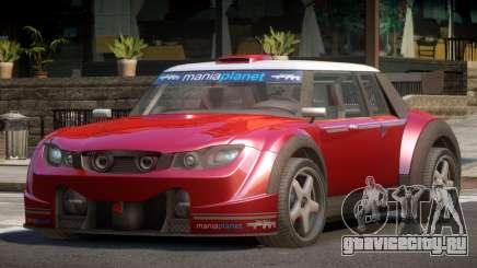 Valley Car from Trackmania 2 PJ9 для GTA 4