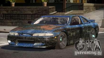 Nissan Silvia S14 Drift PJ7 для GTA 4