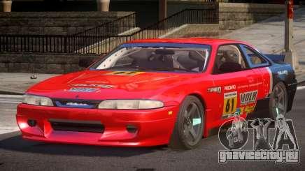 Nissan Silvia S14 Drift PJ4 для GTA 4