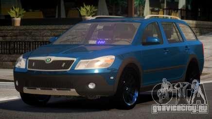 Skoda Octavia Spec для GTA 4