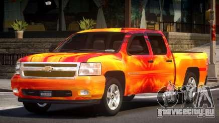 Chevrolet Silverado GST 1500 L3 для GTA 4