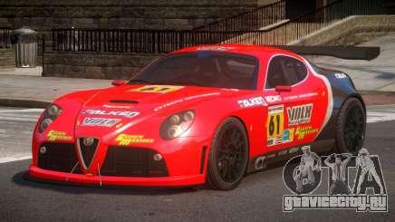 2007 Alfa Romeo 8C L4 для GTA 4