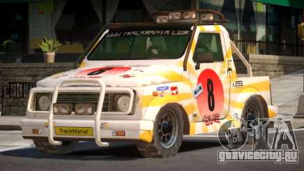 Snow Car from Trackmania PJ4 для GTA 4