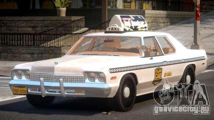 Dodge Monaco Taxi V1.2 для GTA 4