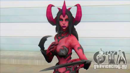 Female Demon для GTA San Andreas