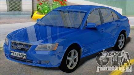 Hyundai Sonata 2008 Iran Plates для GTA San Andreas