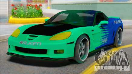 Chevrolet Corvette C6 FALKEN для GTA San Andreas