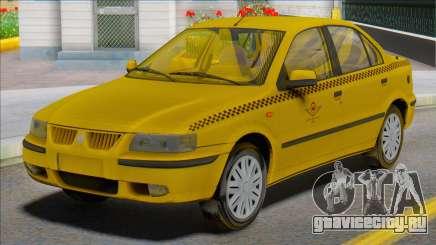Samand Taxi Car для GTA San Andreas