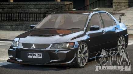 Mitsubishi Lancer VIII BS для GTA 4