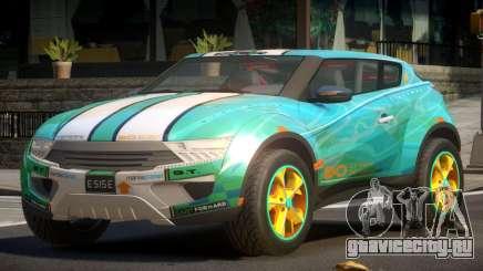 Lagoon Car from Trackmania 2 PJ11 для GTA 4