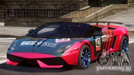 Lamborghini Gallardo LP570 SR L8 для GTA 4