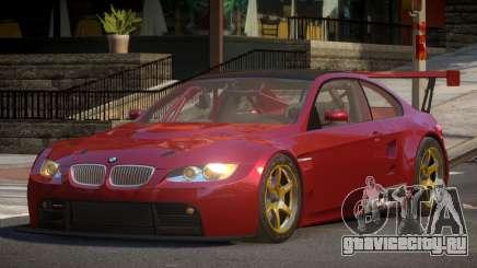 2009 BMW M3 GT2 для GTA 4
