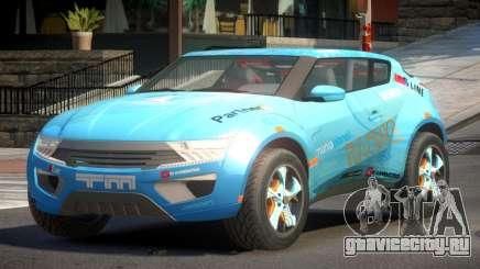 Lagoon Car from Trackmania 2 PJ1 для GTA 4