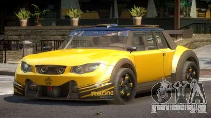 Valley Car from Trackmania 2 PJ2 для GTA 4