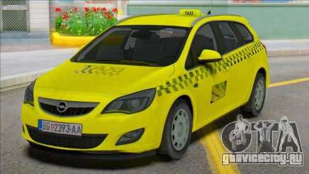 Opel Astra J Kombi Taxi для GTA San Andreas