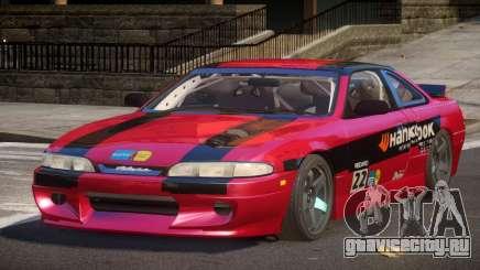 Nissan Silvia S14 Drift PJ6 для GTA 4