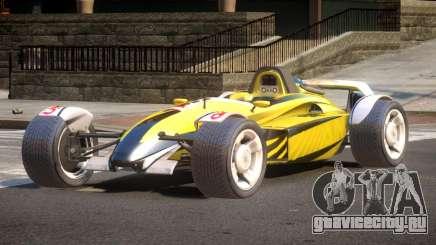 Stadium Car from Trackmania PJ7 для GTA 4