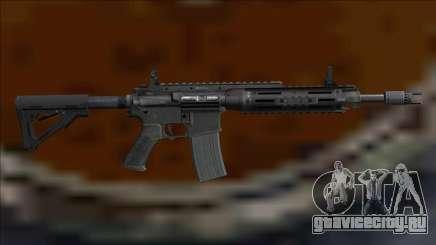 M4A1-Tech Assault Rifle для GTA San Andreas