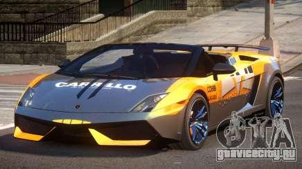 Lamborghini Gallardo LP570 SR L10 для GTA 4