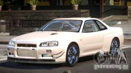 2003 Nissan Skyline R34 GT-R для GTA 4