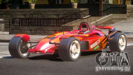 Stadium Car from Trackmania PJ5 для GTA 4