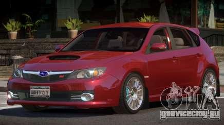 Subaru Impreza WRX STI R-Tuning для GTA 4