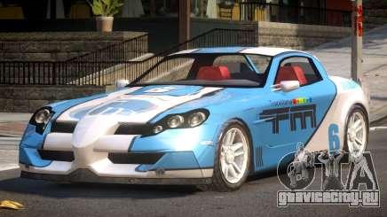 Coast Car from Trackmania PJ1 для GTA 4