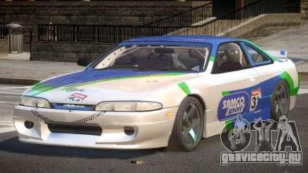 Nissan Silvia S14 Drift PJ10 для GTA 4