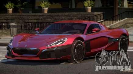 2019 Rimac C_Two для GTA 4