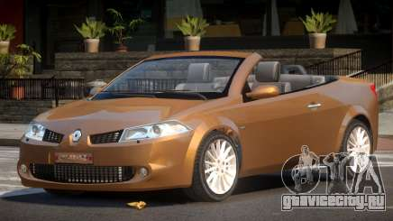 Renault Megane Cabrio для GTA 4
