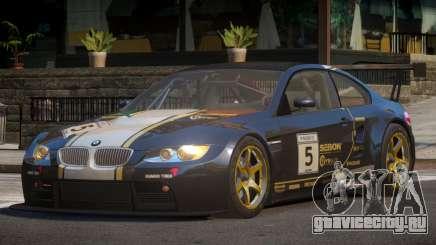 2009 BMW M3 GT2 L8 для GTA 4