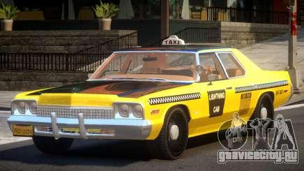 Dodge Monaco Taxi V1.1 для GTA 4