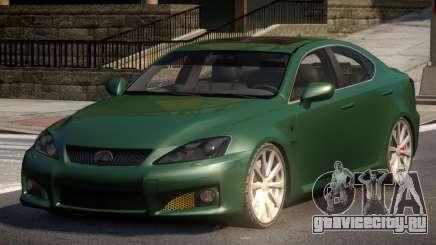 Lexus IS-F L-Tuned для GTA 4