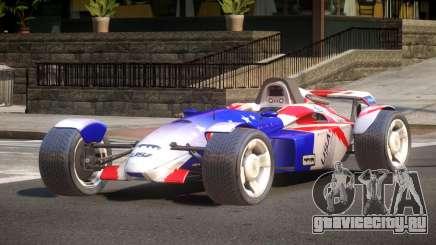 Stadium Car from Trackmania PJ1 для GTA 4