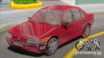 Peugeot 405 GLX Red для GTA San Andreas