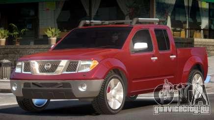 Nissan Frontier V1.0 для GTA 4