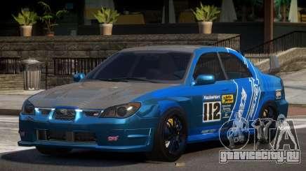 Subaru Impreza STI GS L4 для GTA 4